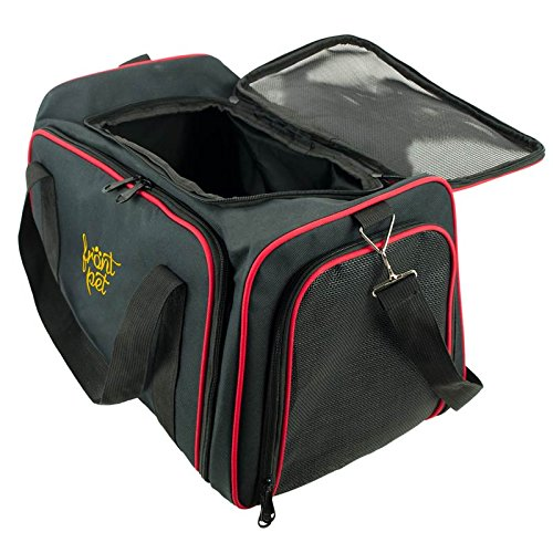 Frontpet Expandable Carrier opened