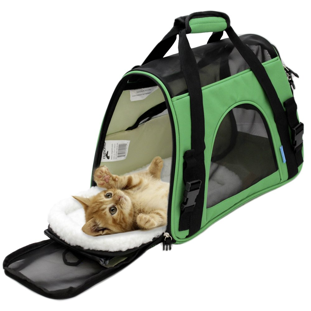 OxGord Airline Approved Carrier with a pet inside