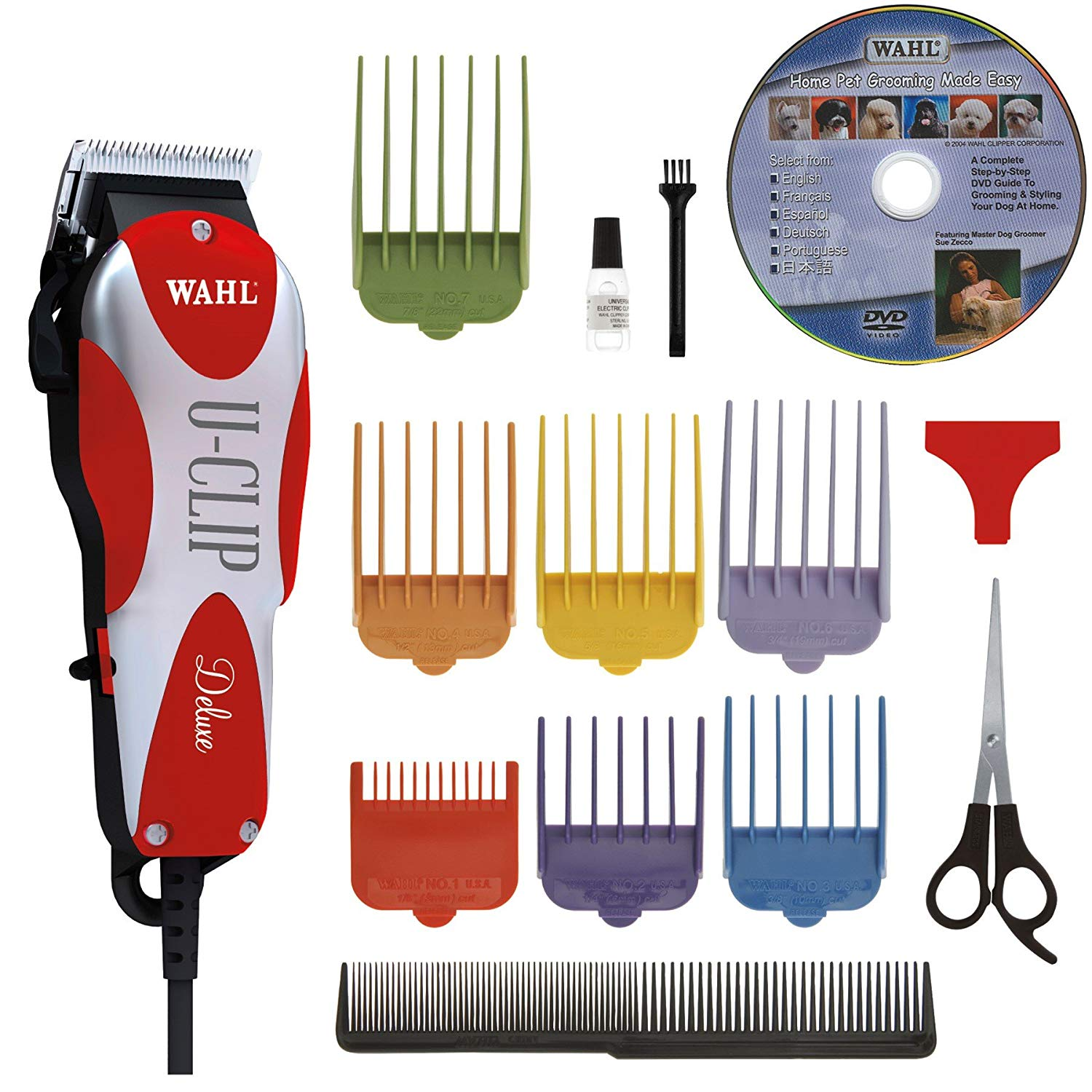 Animal Deluxe U-Clip Pet Grooming Kit - Best budget pick